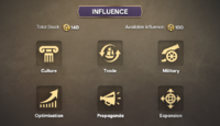 Influence DevBlog mockup