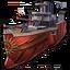 Pyrphorian battlecruiser