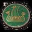 Icon viking drakkar carving 0