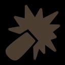 Symbol Angriff