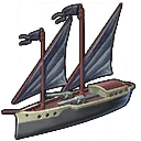 Piraten-Kanonenboot