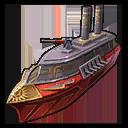 Pyrphorian Kriegsschiff