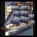 Piraten-Fregatte