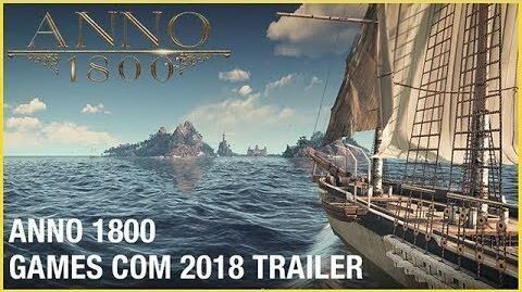 Anno 1800 Official Gamescom 2018 Trailer Ubisoft NA