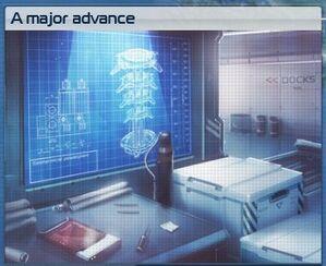 Major advance