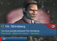 Thor Strindberg defeated