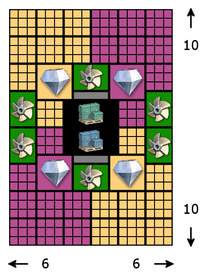Layout Diamondharvestingstation