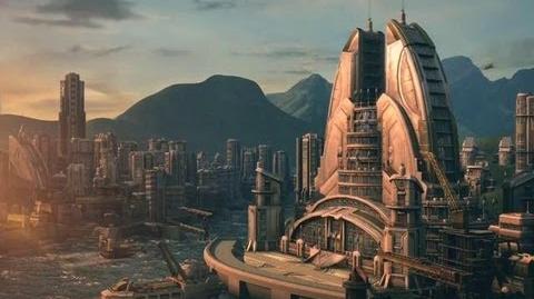 ANNO 2070 Destroy F.A.T.H.E.R Intro Movie
