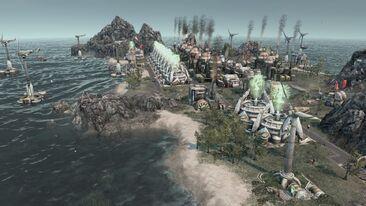 Production island
