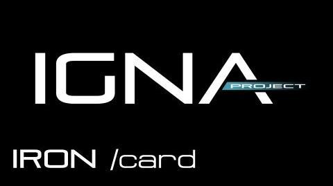 IRON card - Anno 2070 Deep Ocean IGNA 16