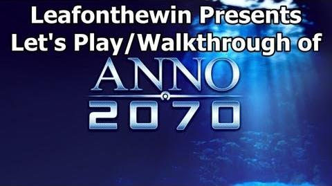 Anno 2070 Let's Play Walkthrough Chapter 1 - Mission 1 The Two-Year Plan