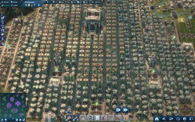 Large tycoon City
