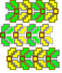 Solar tower stackable layout fixed