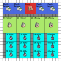 Plastics Square 20x20