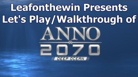 Anno 2070 Deep Ocean Let's Play Walkthrought Single Mission - Enviromental Warriors
