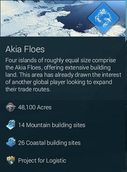Akia flows large