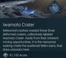 Iwamoto Crater