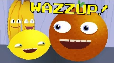 Annoying Orange: WAZZUP Video Game Style!