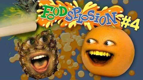 Pineapple vs. Baseball Bat Annoying Orange Foodsplosion 4 (Ft. Jacksfilms)
