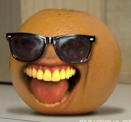 Image result for annoying orange