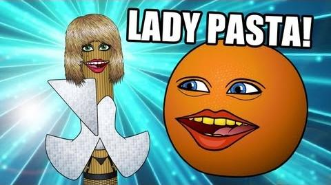 Annoying Orange: Lady Pasta: Animated