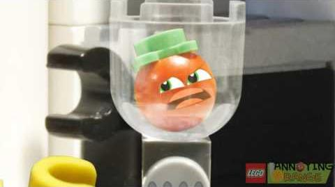 Lego Annoying Orange TOE-MAY-TOE