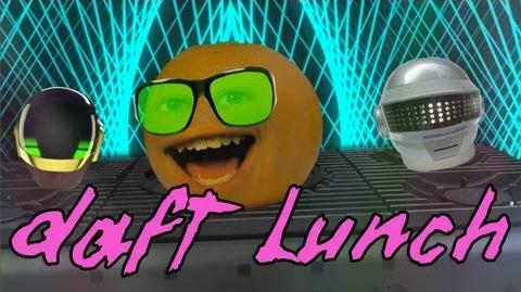 Annoying Orange: Blow Bubbles By Daft Lunch