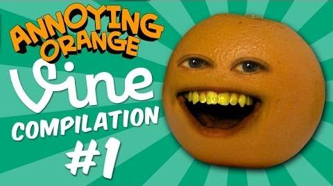 Annoying Orange Vine Compilation 1 Bacon Strips & Twerky Jerky