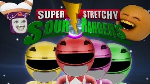 Annoying Orange: Sour Rangers