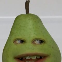 Pear after getting out of his Marshmallow disguise