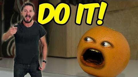 Annoying Orange: Shia LaBeouf Motivates the Kitchen