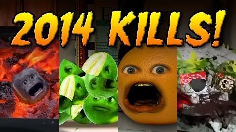 Annoying Orange: 2014 KILLS MONTAGE!!!