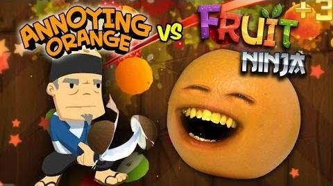 Annoying Orange Vs. Fruit Ninja-0