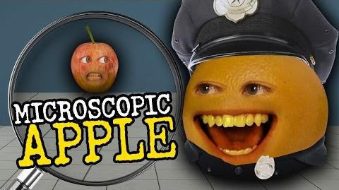 Annoying Orange: Microscopic Apple
