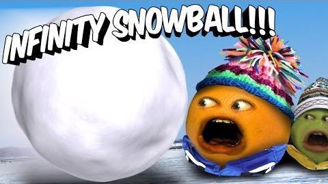 Annoying Orange - Infinity Snowball (with iJustine)