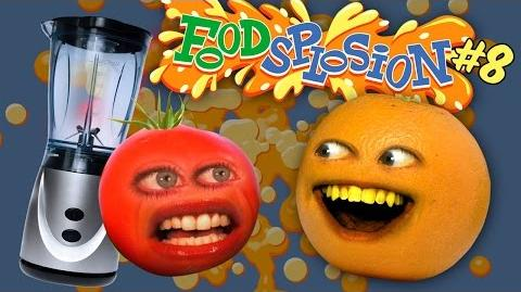 Tomato vs Blender Annoying Orange Foodsplosion 8
