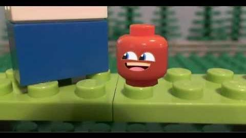 Lego Annoying Orange The Orange Cup