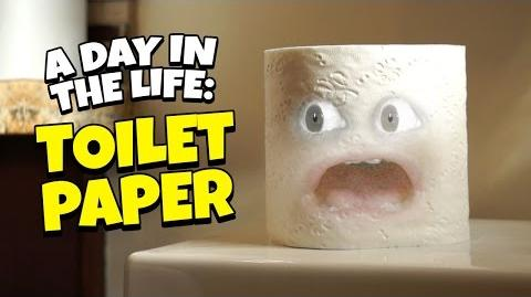 Annoying Orange: A Day in the Life of Toilet Paper
