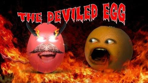 Annoying Orange - The Deviled Egg (Ft. FuriousPete!)