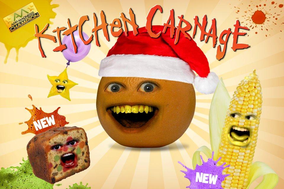 image kitchen carnage christmas png annoying orange wiki rh annoyingorange wikia com annoying orange kitchen carnage app annoying orange kitchen carnage app