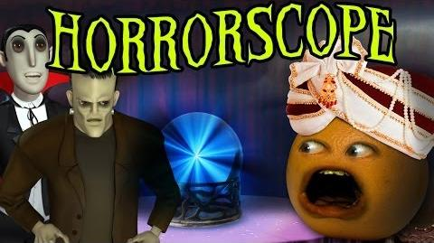 Annoying Orange - HORROR-SCOPE!!!! ( Shocktober!)