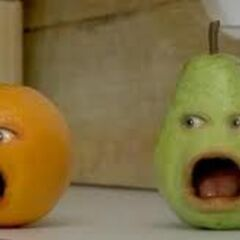 Pear and Orange screaming