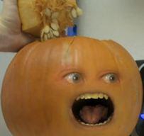 Pumpkin near death