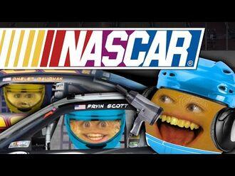 Annoying Orange - NASCAR Pit Crew (feat. Brian Scott & Brendan Gaughan)