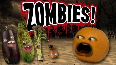 Annoying Orange - Top 5 Ways to Survive a Zombie Apocalypse-1