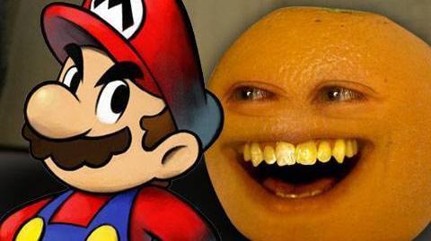 Annoying Orange - Super Mario-0