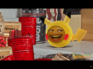 Orange as Pikachu