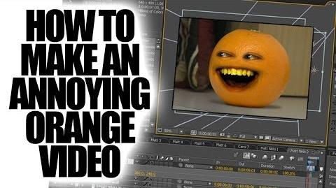Annoying Orange: How to Make the Annoying Orange