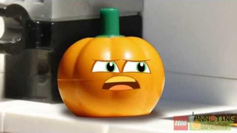 Lego Annoying Orange Plumpkin