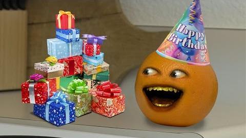 Annoying Orange Happy 5th Birthday!